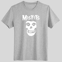 New 2014 Fashion trend of misfits hip-hop fat guys short-sleeve T-shirt plus size plus size male Women short-sleeve t shirt  man