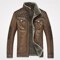 High Quality Plaid Fashion Stand Collar Slim Layer of Cowhide Genuine Leather Short Design Coats Jacket