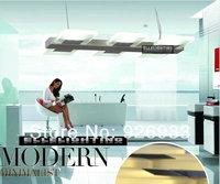 550mm 36W Luxury Modern Minimalist Living Room LED Pendant Lamp Dining Restaurant 6 Head Rectangular Lighting  WD17