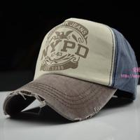 Nypd lovers baseball cap male women's summer sunbonnet outdoor denim benn sun hat  snapback  caps