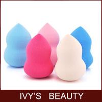 Water Droplets Sponge Shape Powder Puff Smooth Pro Beauty Makeup Clean Blender