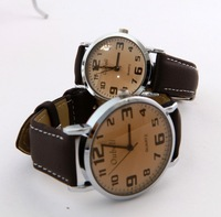2014 New Men WOMEN  Vintage WATCH  Analog Round Watch  Digital Leather Wrist Watch