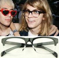 Fashion vintage fashion plain mirror gradient transparent glasses frame j018 10  10pcs