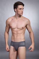 2014 New Style High Quality Sexy Men Boxer Shorts Mens Underwear  Wholesale Free Shipping X2301