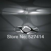 Resin chandelier modern minimalist concept