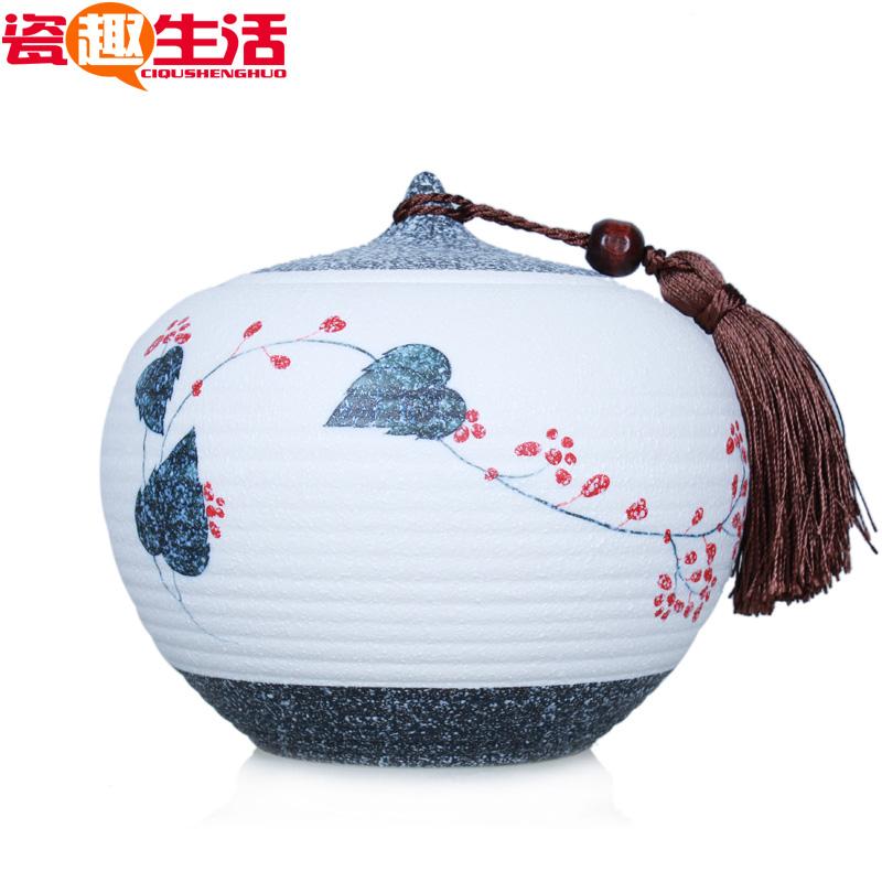 porcelana vidros caddy chá rico em cerâmica vasilha gcaddy panelas de barro caneca(China (Mainland))