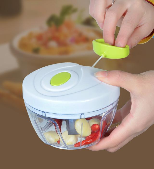 Main tirage. aliments pour nourrissons légumes déchiquetage machine cuisine, multifonctionnel. ménage. légumes machine de découpe de ports gratuits