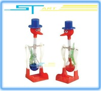 Drinking Bird USA ASTM certificate happy bird perpetual motion bird children education toys low shipping