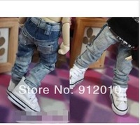 Fashion Washing Jeans Pants for 1/6 YOSD BJD Doll Super Dollfie Clothes