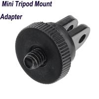 2014 NEW Plastic & Metal Mini Tripod Mount Adapter Monopod for Gopro Hero 3+ 3 2 1 Camera Accessories ST-60
