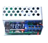 DC step-down DC-DC power module with housing 10A can also with adjustable voltage 12v 5V voltage display
