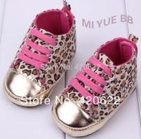 Hot explosion models Miyuebb cotton cloth leopard baby shoes toddler shoes 2-color 11-13cm