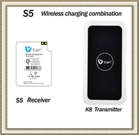 2014 New Arrival For Samsung Galaxy S5 SV i9600 Wireless Charger Kit Charging Pad Transmitter Mat+Wireless Receiver Coil
