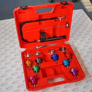Promotion Car Radiator Test water Pressure tester pump gauge tester adapter Color Cap Leakage test(China (Mainland))