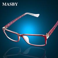 Male Women glasses myopia glasses steel wire eyeglasses frame myopia finished products myopia