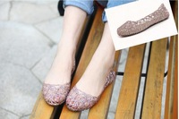 Supernova Sales New 2014 Feshion summer breathable women shoes jelly sandals nest mesh flats for women# 5699