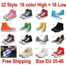 Free shippig 2013 new 16 Color All Size 35-46 high Style STAR chuck Classic Canvas Shoes Sneakers Men's and Women's Canvas Shoes(China (Mainland))
