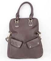 A116(brown)new women's handbag,fashion formal,portable & white 1 shoulder,big bag,women's bags vintage ,free shipping!