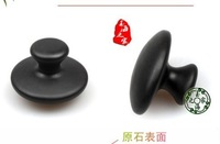 black bian stone vibro shape massager Acupuncture mushroom beauty health care products body massage Scraping therapy treatment