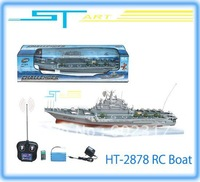 ST Model 4CH HT-2878 Remote Control remote control boat remote control model aircraft carrier low shipping fee wholes helikopter
