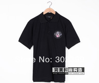 2014 spring and summer new free shipping GIV embroidery hound lovers short-sleeve shirt