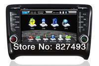 Android 4.0 Car PC Car DVD Player GPS Navigation For Audi TT 2006-2012 with RDS WIFI Stereo Bluetooth Radio TV AUX Video Audio