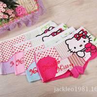 6pcs/lot 2014 new fashion children panties girls' briefs female child underwear lovely cartoon panties children clothing