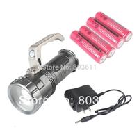 Super Bright 2000 Lumen Cree XM-L T6 LED Flashlight Lantern Hand Torch
