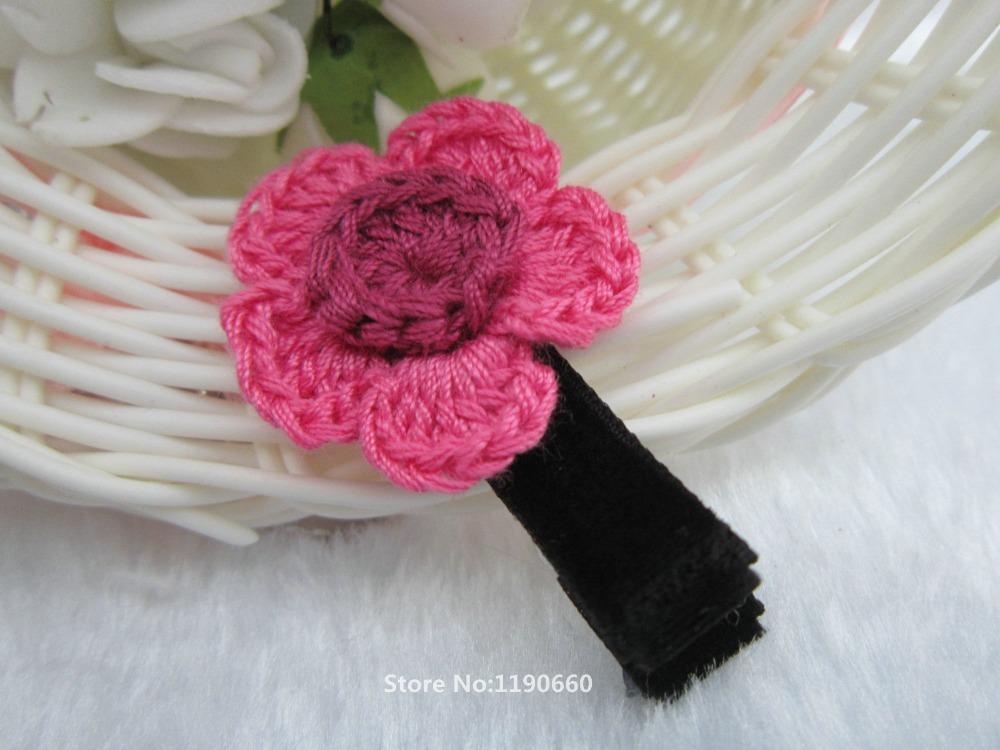 Crochet Hair Barrettes : Crochet Barrettes Related Keywords & Suggestions - Crochet Barrettes ...