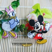 Free shipping /NEW  Mickey Mouse and Donald Duck  cartoon Iron On Patches embroidery patches DIY accessories/ wholesale