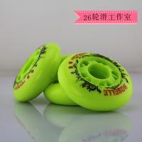 4PCS Brake wheel flat hanawa skate wheel frm second generation motor wheel skate wheels cat-eye round 72mm  76mm 80mm 83a