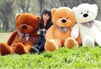 free shipping 1.2 m teddy bear plush toys baby toys teddy bear brinquedos doll plush toys giant plush soft toy stuffed animal