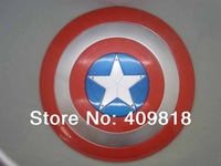 The Avengers Captain America/captain america shield, LED Flash and music Plastic shield 30cm Not include battery