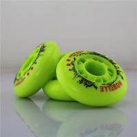 8PCS Brake wheel flat hanawa wheel skates second generation motor wheel skate wheels cat-eye round72mm 76mm 80mm 83a