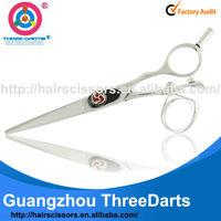 "Newest ER series professional swivel salon cutting scissors ER-155 5.5"""