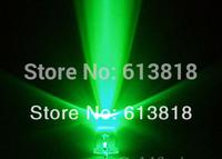 8mm Round Green ( 505-530nm ) Long Leg 2-Pin Dip LED ( CE & RoHS )