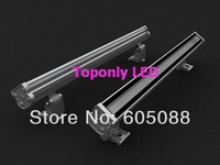 0.5m length DC24v rgb 24w wall washers led dmx waterproof lighting,compatitable with DMX512&normal rgb controller,10pcs/lot!