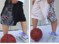 2014 New Arrival Men Shorts Loose Sport Basketball Shorts Men Embroidery XL-4XL