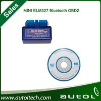 2014 Latest Version V1.5 Super Mini Elm 327 Bluetooth Obdii / OBD2 Wireless Mini Elm327 Works on Android