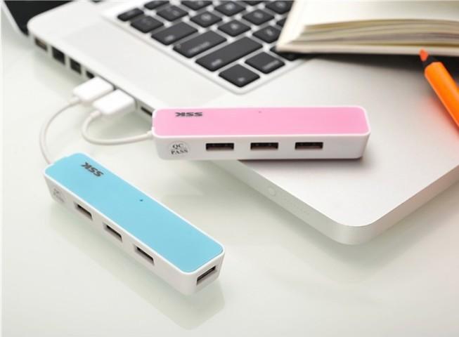 HUB USB 1 to 4 ports USB 2.0()
