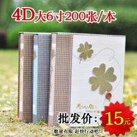 Big 4d 6 photo album 200 baby photo album box photo album photo album