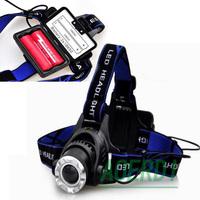 New 2000 Lumen CREE XM-L T6 LED Bicycle bike HeadLight Lamp Lamps Flashlight Light Headlamps