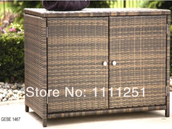 2014 Outdoor Towel rattan storage unit Deck box Storage Cabinet(China (Mainland))