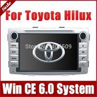 2-Din Head Unit Car DVD Player for Toyota Hilux 2012 2013 w/ GPS Navigation Nav Bluetooth Radio TV USB AUX 3G Audio Video Stereo