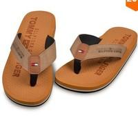 New 2014 Summer Brand Men Casual Flat Sandals,Bakham Leisure Flip Flops,EVA Massage Beach Slipper Shoes For Men Big Size 40-45 2