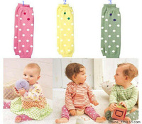 Free Shipping! New 2014 Children's Socks Knee Pads Dot Socks Baby Leg Warmers 4013