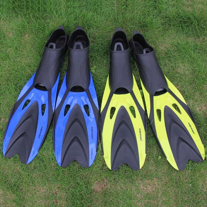 2014 Summer New Fashion Manner Fins Men Women Diving Fins Adult Swimming Fin Long Flipper Fins(China (Mainland))