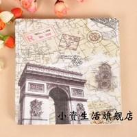 Multicolour tissue print table napkin paper eco-friendly tissue b151
