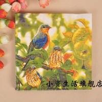 Multicolour tissue print table napkin paper claudius paper b178