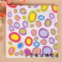 Multicolour tissue print table napkin paper eco-friendly tissue b161